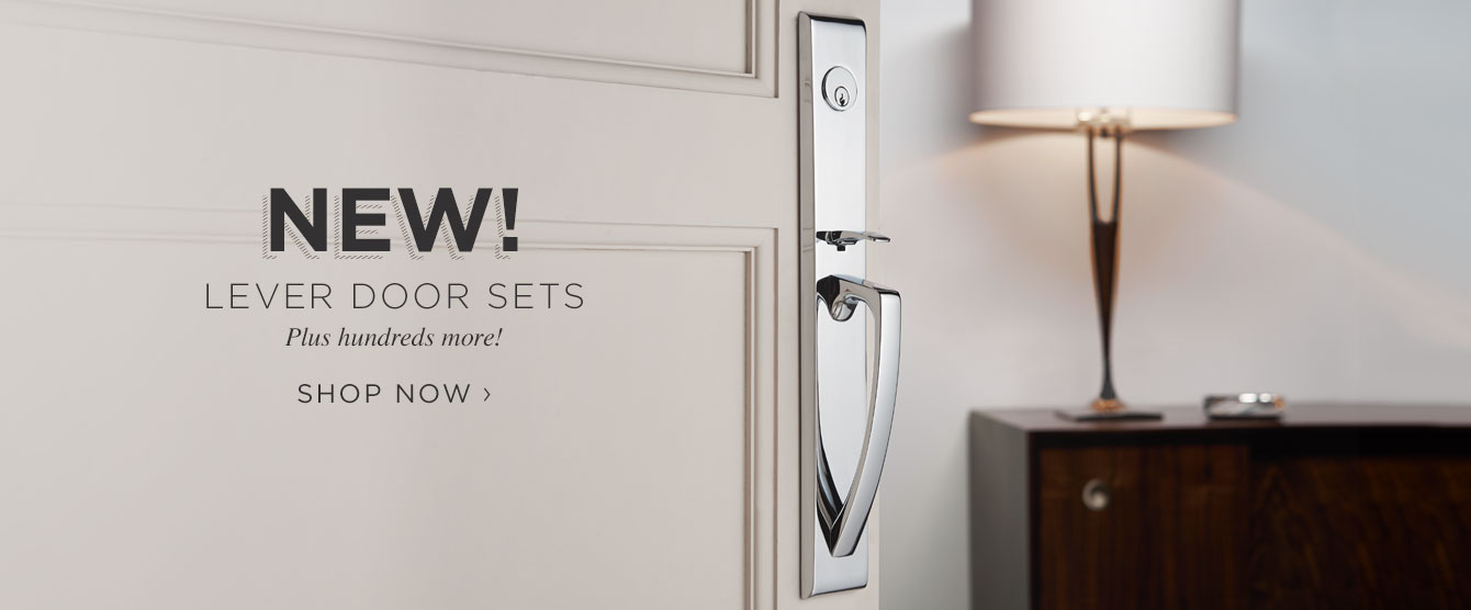 New Lever Door Sets