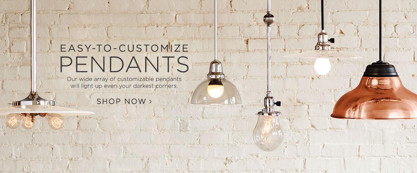 Easy - To - Customize Pendants